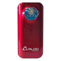 Aldo Powerbank 5600mAh - Merah