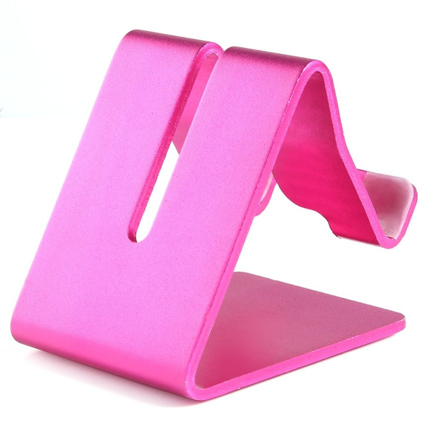 Aluminum Cell Phone Holder (Pink) (Intl)