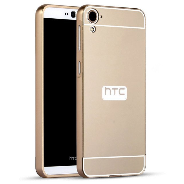 Aluminum Metal Frame PC Backplane Case for HTC 626 626W (Gold) (Intl)