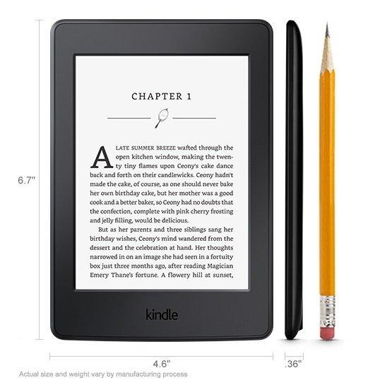 Amazon Kindle Paperwhite 3 - 4GB - Hitam