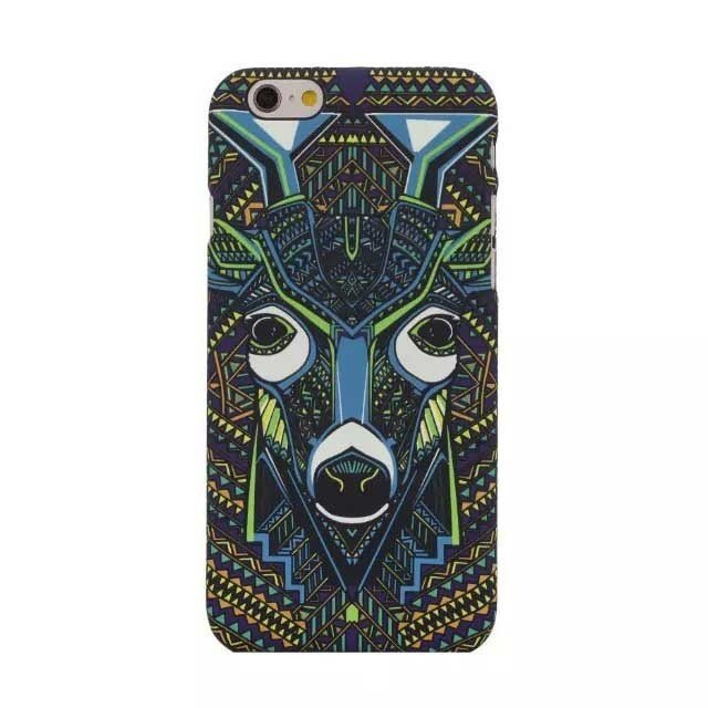 Animal Faces Painting Case for iPhone 6 Plus