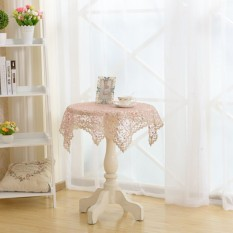 Anne Princess Elegant Embroidered Lace Tablecloth For Wedding Party Home Table Cover Multi-founction Towel Textile Decoration 60*60cm - Intl