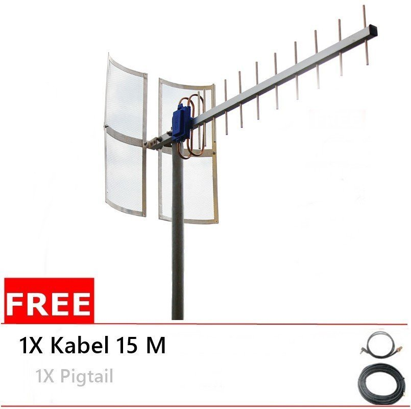 Antena Yagi 75dbi Modem  Huawei E353 High Extreme 4G LTE / 3G EVDO