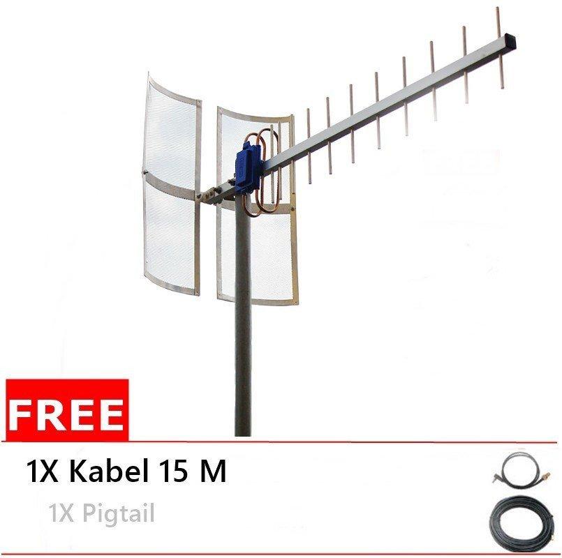 Antena Yagi 75dbi Modem  ZTE MF61 High Extreme 4G LTE / 3G EVDO