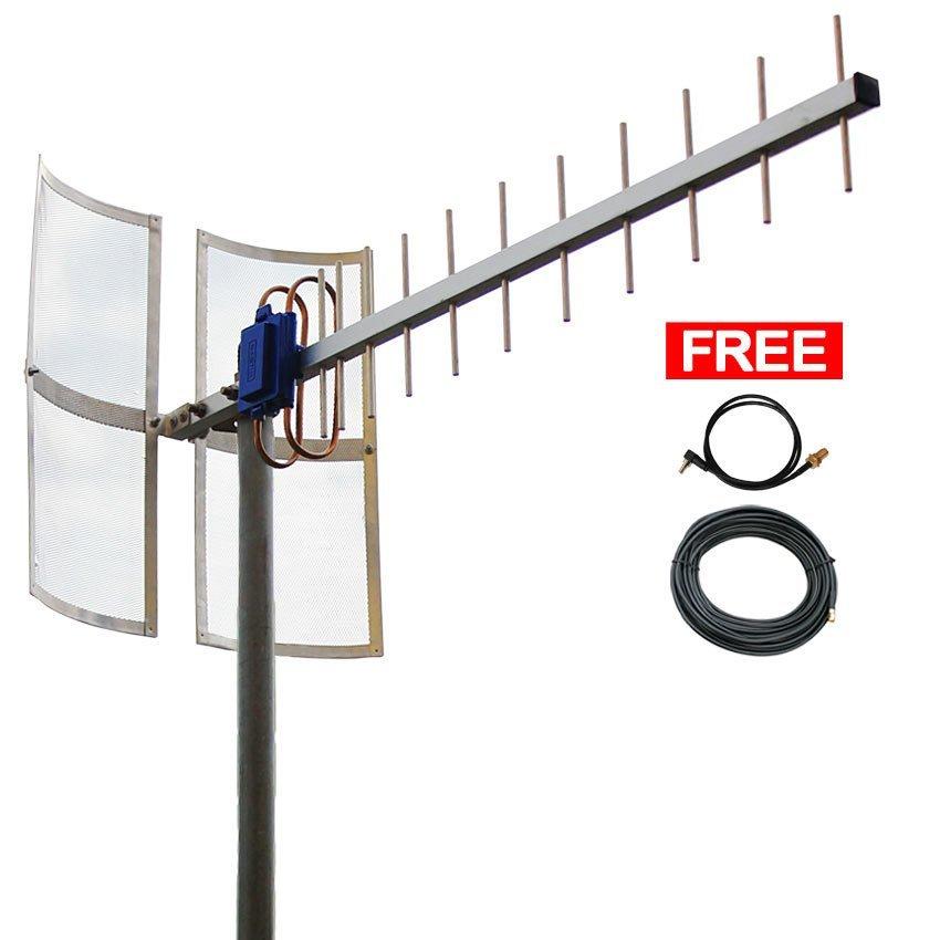 Antena Yagi 75dbi Modem  ZTE MF645 High Extreme 4G LTE / 3G EVDO