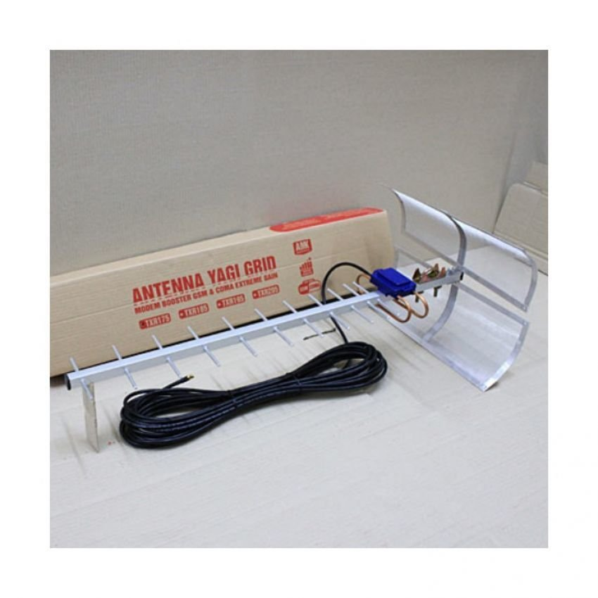 Antena Yagi Penguat Sinyal Modem Sierra 889 High Extreme 75dB Pigtail Original