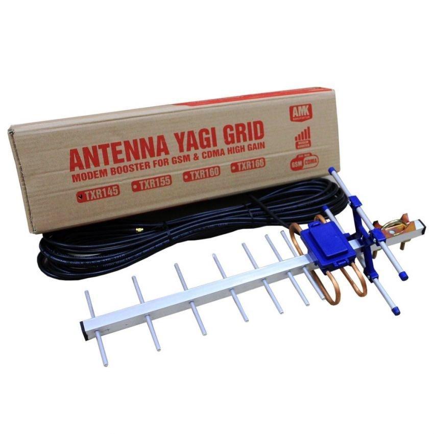Antena Yagi Untuk Modem  Huawei E156 High Extreme 4G LTE / 3G EVDO 45dBi