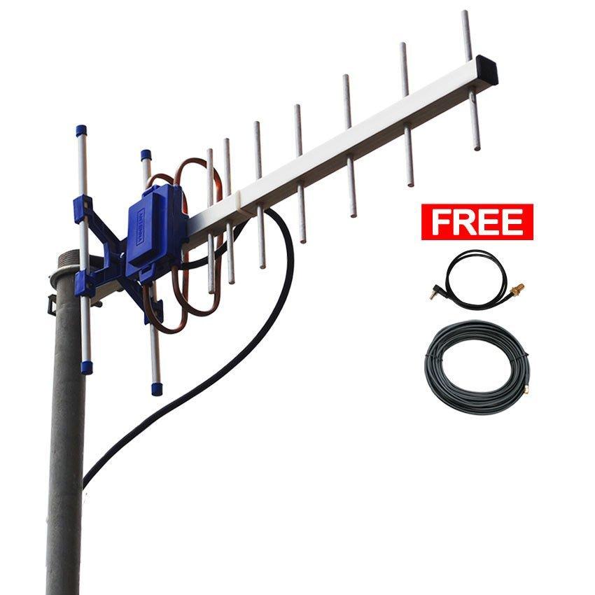 Antena Yagi Untuk Modem  Huawei Vodafone K5006Z High Extreme 4G LTE / 3G EVDO 45dBi