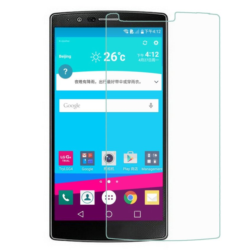 Anti-Scratch Clear PET Screen Protector Film Guard for LG G4 (Clear) (Intl)