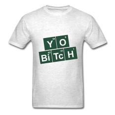AOSEN FASHION Customize Men's Breaking Bad Jesse T-Shirts Light Oxford