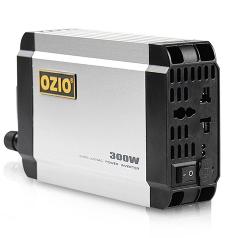 Aoshuer V30 24V Turn 220V 300W Car Inverter Silver