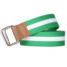 AOXINDA New Fashion Women & Men's Canvas Dual Rings Buckle Causual Belt 110cm - Green - Intl