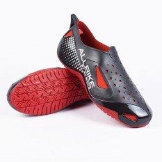 AP Boots Sepatu Ap All Bike - Hitam-Merah