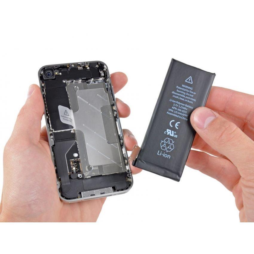 Apple Baterai Iphone 4G Original - Hitam