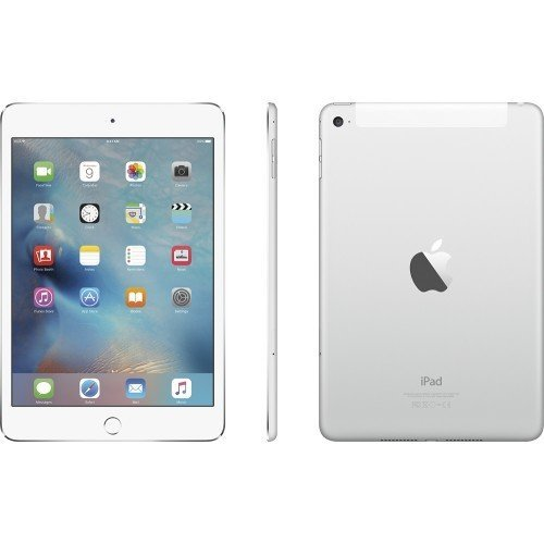 Apple iPad Mini4 Cellular 7.9' 16 GB - Silver