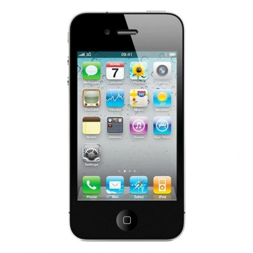 Apple iPhone 4 CDMA - 16 GB - Hitam