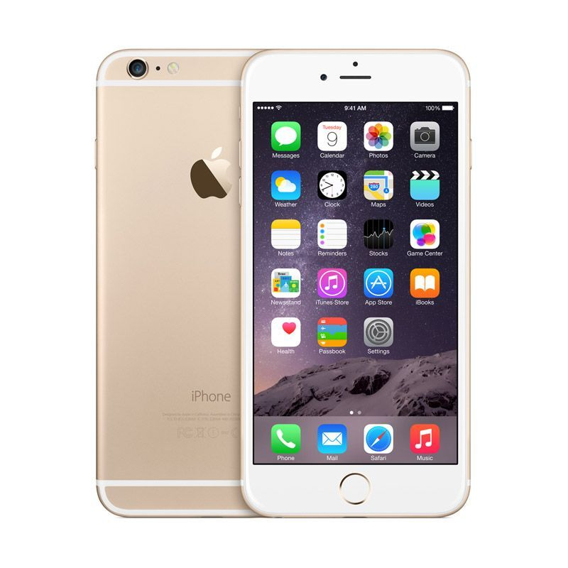 Apple iPhone 6 Plus - 128 GB - Emas