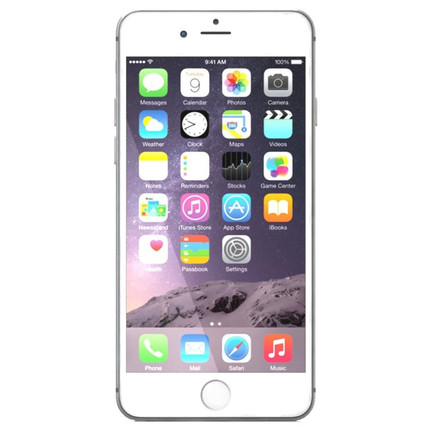 Apple iPhone 6 Plus - 128 GB - Silver