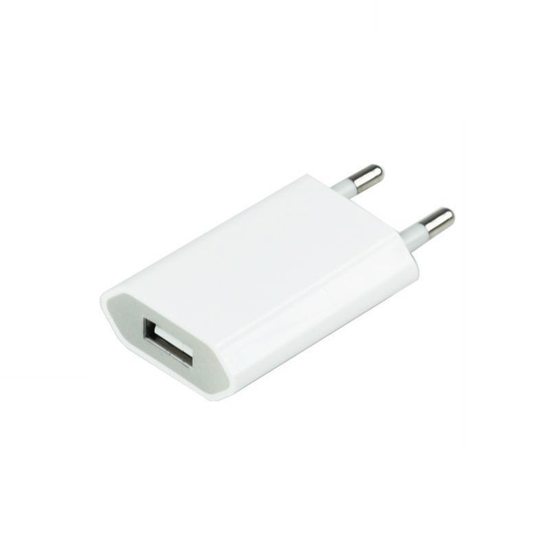 Apple Travel Charger for Iphone 5 & 6 - Original - Putih