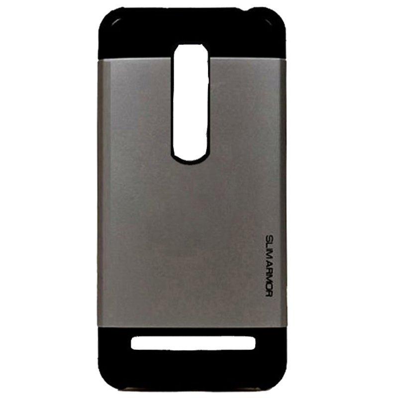 Armor Back Case Asus Zenfone 2 ZE551ML/ZE550ML Hardcase Slim Armor - Abu abu