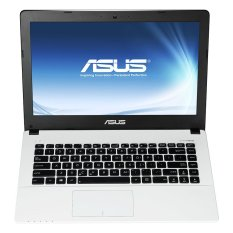 "Asus X455L - RAM 2GB - Intel Core i3 4005 - 14"" - Putih"
