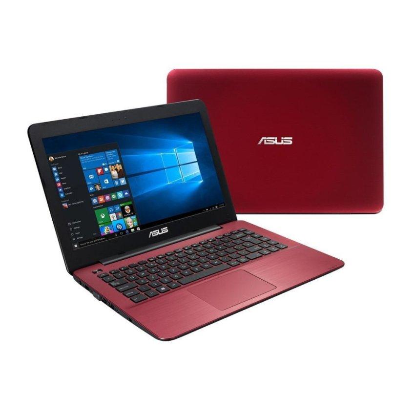 """Asus X455LA-WX404D - RAM 2GB - Intel Core i3 4005U - 14 """" - Merah"""