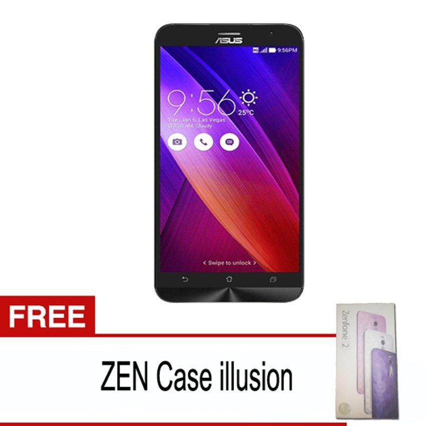 Asus Zenfone 2 - 32GB - Merah + Gratis Zen Case Illusion