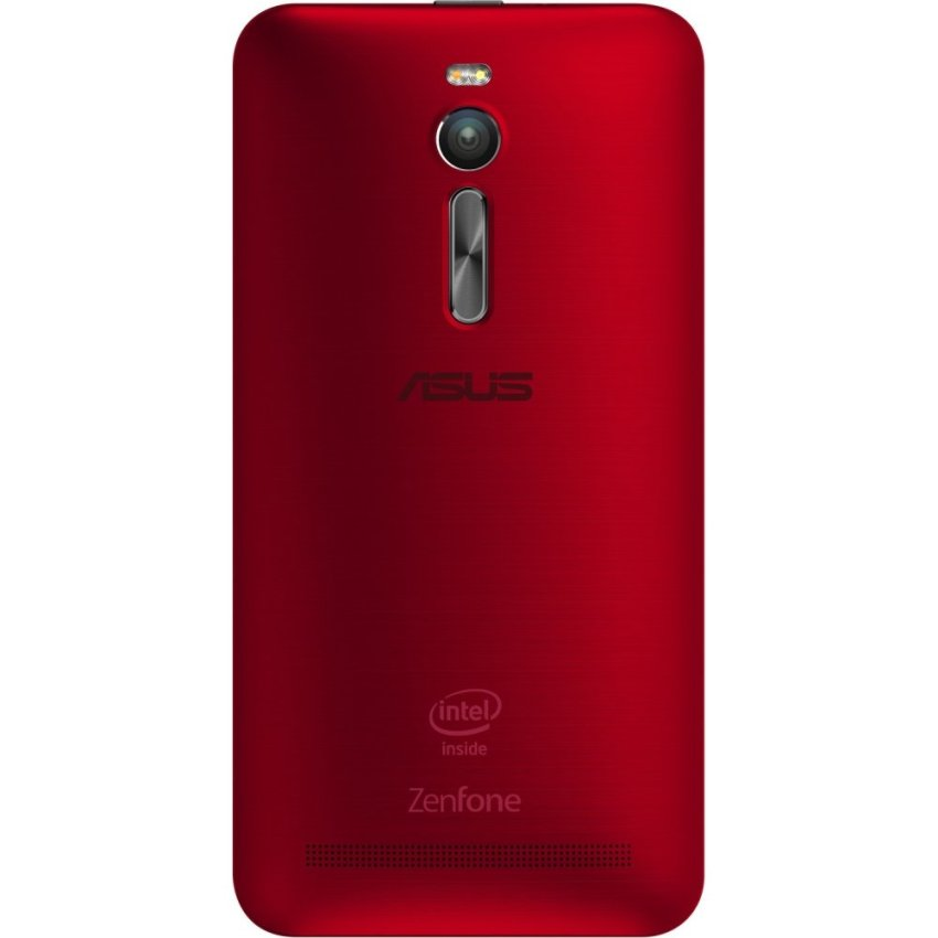 Asus Zenfone 2 ZE551ML - RAM 4GB - ROM 32GB - Red + Gratis Zencase Illusion Biru Metal