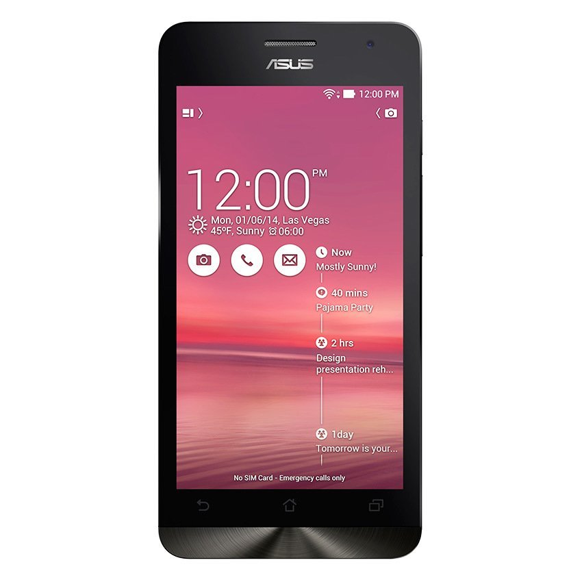 "Asus Zenfone 5 A500CG - 5"" - 8MP - 8GB - Cherry Red"