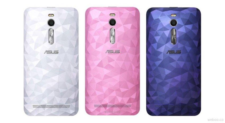 ASUS Zenfone Selfie ZD551KL - 16GB - Merah Muda