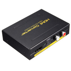 Audew 5.1CH 1080P HDMI To HDMI + SPDIF + RCA L / R Audio Splitter Extractor Converter UK (INTL)