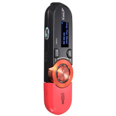 Audew Mini 8GB USB MP3 Music Player Red (Intl)