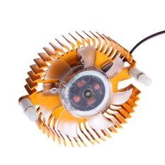 Audio Card Adapter Cooler Fan Golden - Intl