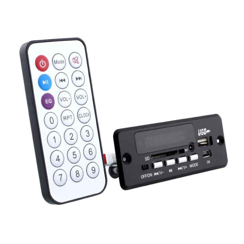 Aukey Remote USB CT02EA Remote Control Bluetooth Talking Module (Black) (Intl)