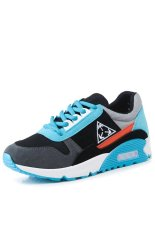 Autumn 2015 New Shoes Women Sports Shoes Cushion Female Student(blue) (Intl)