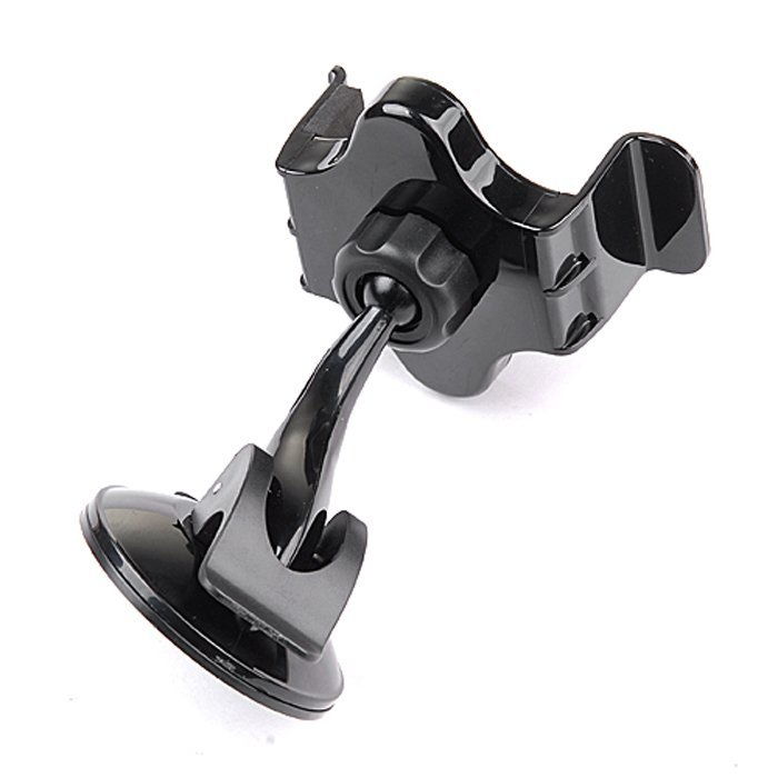 AZONE For HTC PDA iPhone 4 5 5G iPod Auto Car Mount Stand Holder with Suction Cup ( Black )