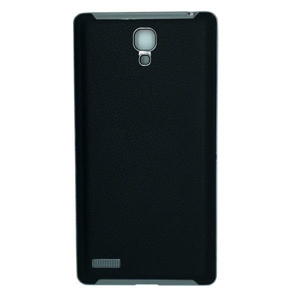 Back Case Battery Cover Xiaomi Redmi Note Leather Case - Hitam