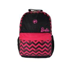 "Barbie BA-21304-25 Backpack 17,5"" - Hitam-Pink"