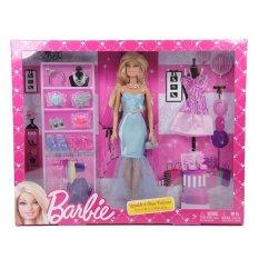 Barbie Sparkle Sweet Fashion Doll - Boneka
