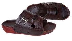 Baricco Brc 455 Sandal Casual Pria -Kulit Asli Keren - Black