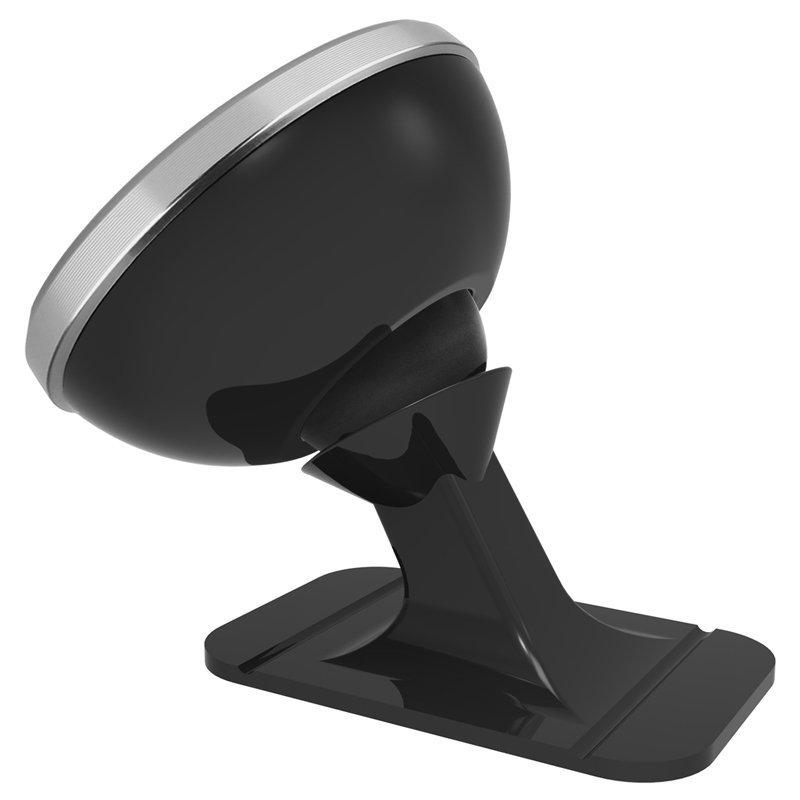 Baseus 360 Degree Rotation Magnetic Car Holder Silver
