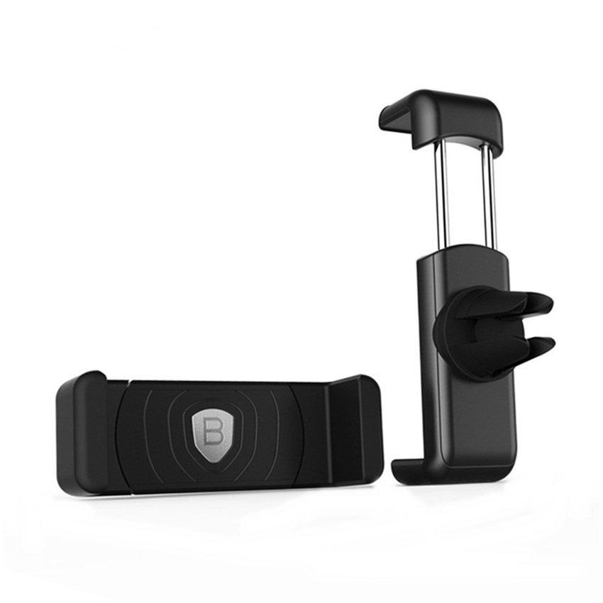 Baseus Air Vent Smartphone Holder - Black