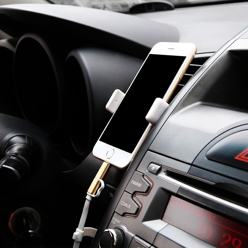Baseus Air Vent Smartphone Holder - Hitam