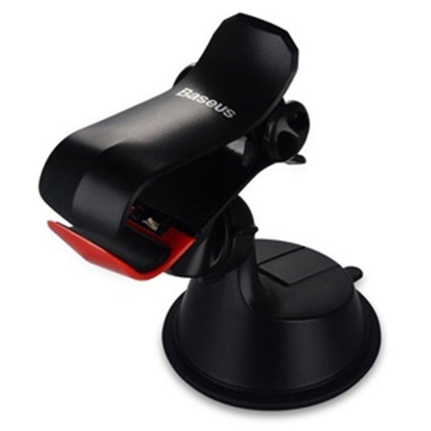 Baseus Jie Car Mount Holder for Smartphone 3.5 - 6 Inch - Black