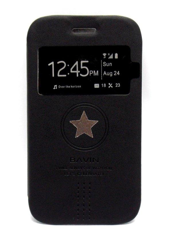 Bavin Flipcover LC Samsung Galaxy Core i8262 - Hitam