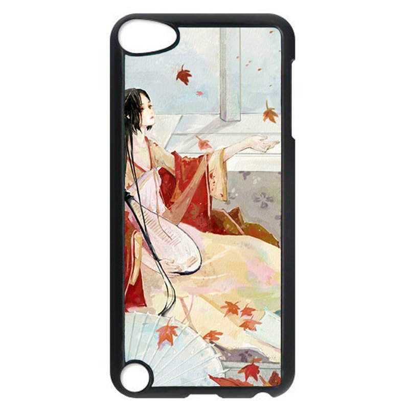 Beautiful Girl Phone Case for iPod Touch 4 (Black)