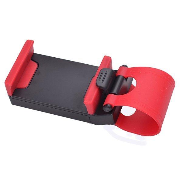 Belpink Car Holder Steering Wheel - Merah