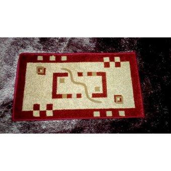 berfin carpet keset turki sultan 0631a merah lazada