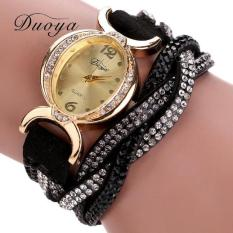 Bigskyie Duoya Hot Selling Luxury Fashion Heart Pendant Women Watches Black Free Shipping