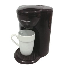 Black & Decker Coffee Maker Mini 1 Cup - DCM25B1